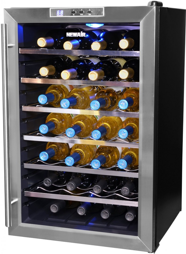 NewAir AW-281E 28-Bottle Wine Cooler